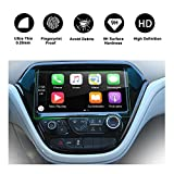 RUIYA 2017 Chevrolet Bolt EV 10.2-Inch Car Navigation Protective Film,Clear Tempered Glass HD and Protect your Eyes