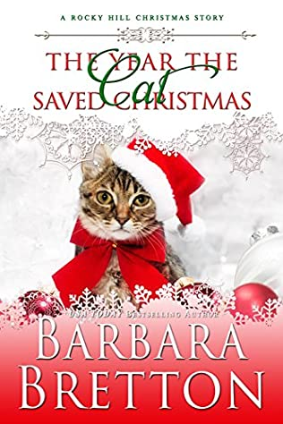 book cover of The Year the Cat Saved Christmas