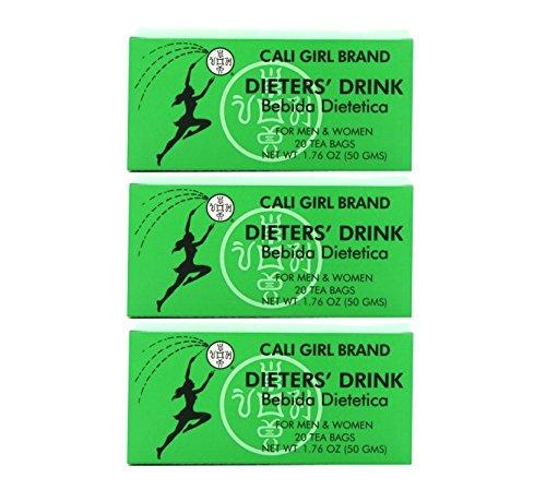 - Cali Girl Brand Dieter's Tea Drink, 20-count