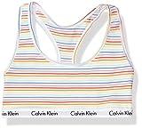 Calvin Klein Women's Carousel Logo Bralette, Prism