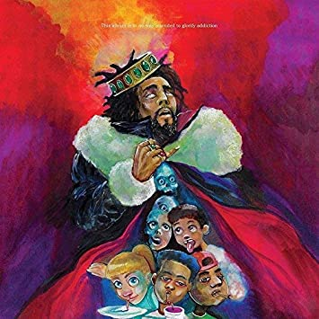 zolto Poster Album Cover Poster J KOD 12x18 inch Rolled Poster Cole