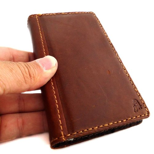 Genuine Case Real Leather Cover Nokia Lumia 928 Pouch Wal...