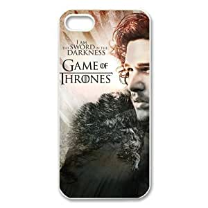 Customized Game of Thrones Ghosts Jon Snow My Watch Begins Iphone 6 Case 4.7 Inch Great Workmanship