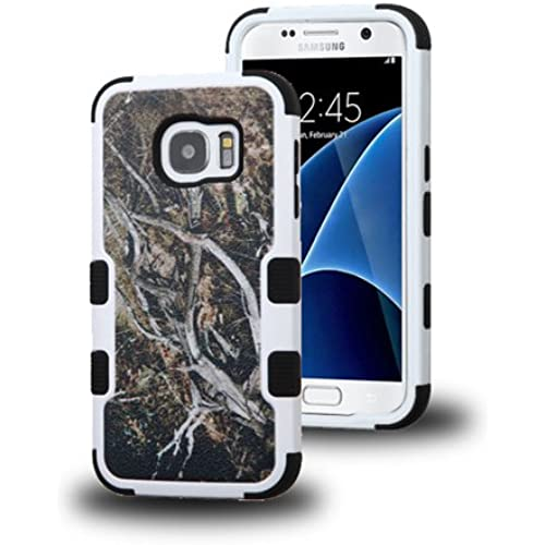 Galaxy S7 Case, LUXCA [Shock Absorb] Hybrid Dual Layer [Heavy Duty] Defender Protective Case Cover for Samsung Galaxy S7 (Yellow Vine) Sales