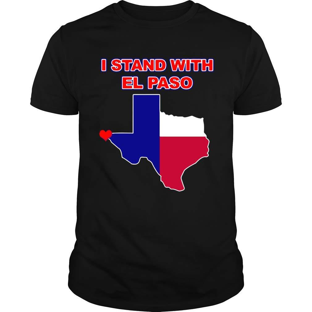 El Paso Strong Texas Support Custom Ts Shirts
