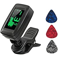 Guitar Tuner Digital Clip-on Tuner for Acoustic Electric...