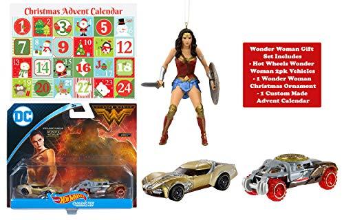 Ropeastar Wonder Woman Gift Set, Hot Wheels 2