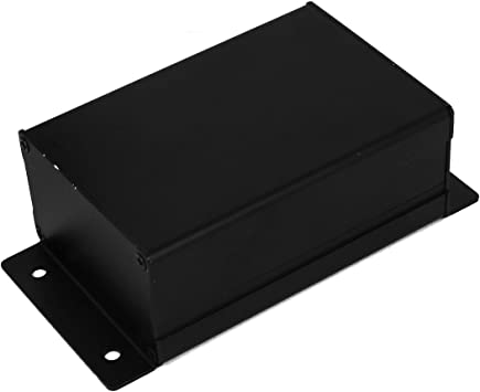 Sourcingmap® Caja de Aluminio para Montaje en Panel Proyecto Caja ...