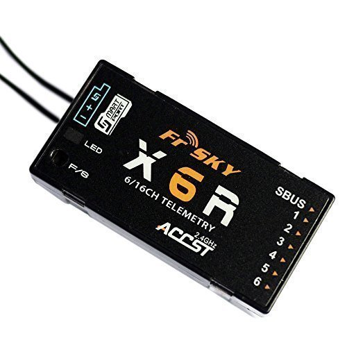FrSky Taranis Compatible Receiver X6R-148 6-channel 2.4ghz ACCST&SBUS ¡