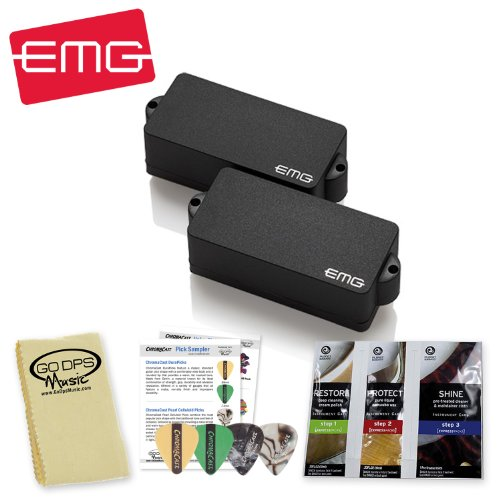 EMG P Active Bass Guitar Pickup, Black for sale  Delivered anywhere in USA
