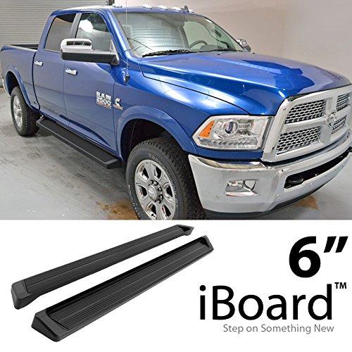 ing Boards For 2009-2018 Dodge Ram 1500 Crew Cab Pickup 4-Door & 2010-2018 Ram 2500 3500 (Nerf Bars | Side Steps | Side Bars) (Dodge Ram Tubular Side Step)
