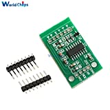 Dual-channel HX711 Weighing Pressure Sensor 24-bit Precision A/D Module For Arduino