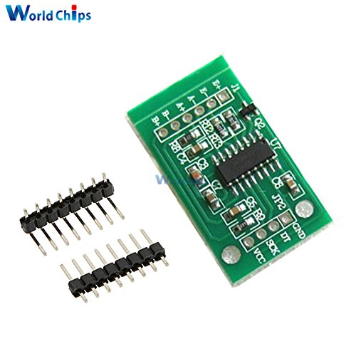 10pcs/lot HX711 Weighing Sensor Dual-Channel 24 Bit Precision A/D Module Pressure Sensor