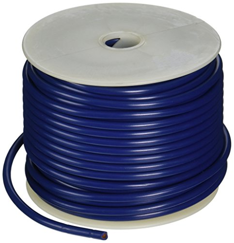 Coleman Cable 10-100-12 Primary Wire, 10-Gauge 100-Feet Bulk Spool, Blue