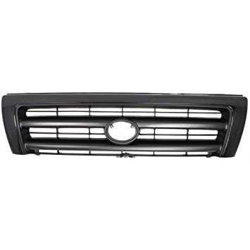 471cc6f39af46 Grille Compatible with Toyota Tacoma 98-00 Painted-Black 2WD/4WD  W/Pre-Runner W/Color-Keyed Pkg.