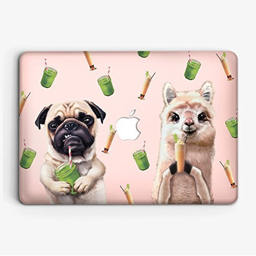 Modo Design No Prob Llama Pug Life Smoothi Time MacBook Pro 13 Case A1706    A1708 (NEWEST Release 2017   2016) with without Touch Bar Case Macbook Pro  13 ... 7a5bcbaee1f00