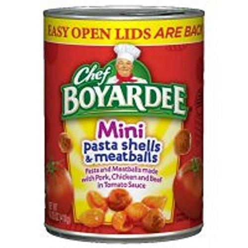 Chef Boyardee Mini Bites - Chef Boyardee Mini Bites Pasta Shells & Meatballs, 14.75 oz 2 pack