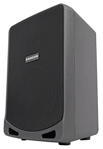 Samson 6'' Portable Rechargeable Speaker+Mic For Workout, Yoga, Spin, Fitness by Samson Technologies (Image #1)