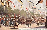 Pageant for Royal Jubilee 1908 Vienna, Austria Original Vintage Postcard