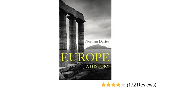 Europe A History Norman Davies Ebook