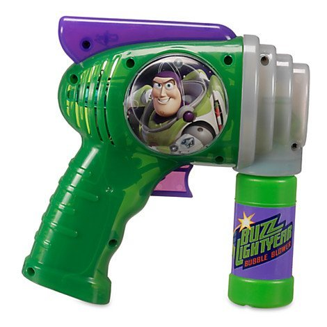 Disney Parks Toy Story Buzz Lightyear Bubble Blower Gun Toy