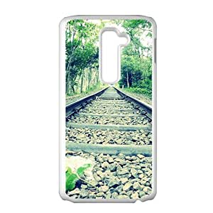 Forest Train Track Fashion Personalized Phone Case For LG G2 by ruishernameMaris's Diary