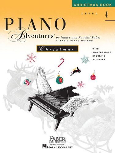 Level 4 - Christmas Book: Piano Adventures