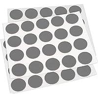 Adsamm CC-SA-GRD-13-20-3 CC-SA-GRD-13-20 60 x afdekkappen, grijs donker, Ø 13 mm