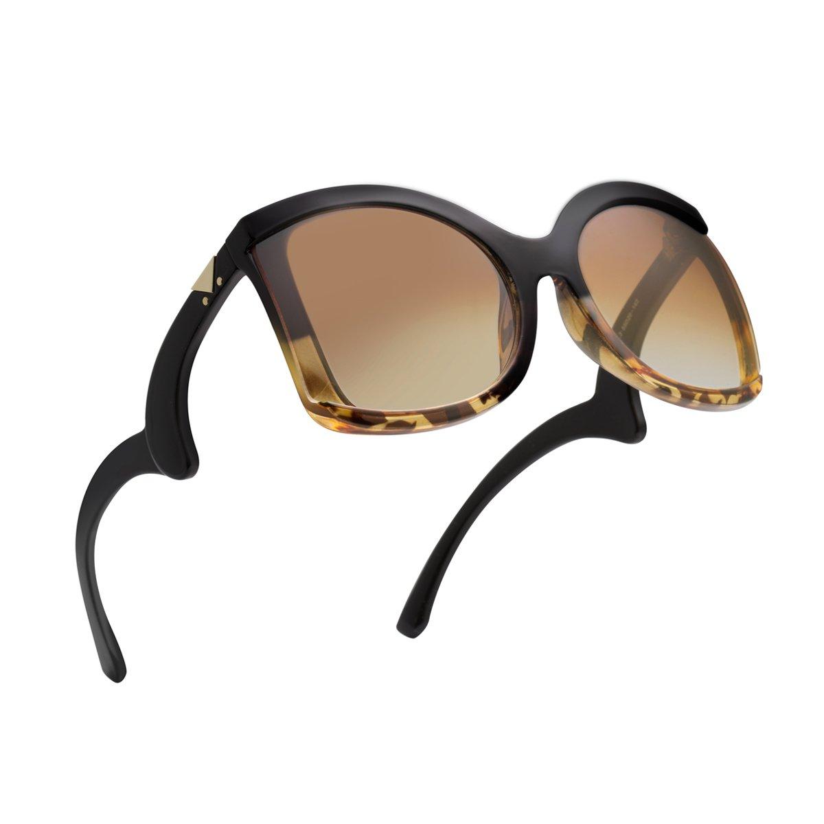 cb20c330da ... Women RAYSUN Oversized Square Sunglasses Multi Tinted Frame Fashion  Modern Shades 100% UV Protection Eyewear. Wholesale Price 9.99. Composite  frame