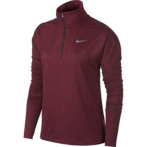Hz Long htr Sleeved Top Elmnt red Crush Crush shirt Nike W Burgundy T Mujer Nk a6YIqqfX