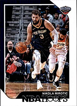 2018-19 Panini Hoops Red Backs  201 Nikola Mirotic New Orleans Pelicans NBA  Basketball 220d64949