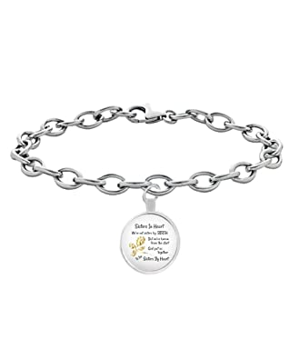 5d01deeaa RLT-Source Unbiological Sister Bracelet - Not Sisters By Birth But Sisters  By Heart -