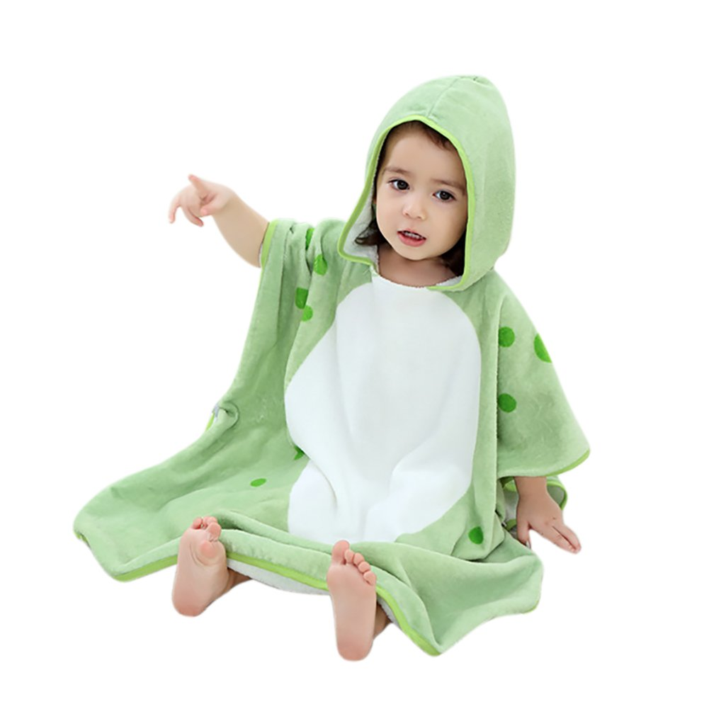 albornoz vestido niñ os toalla de bañ o Niñ as Chicos con capucha salida de bañ o IBLUELOVER