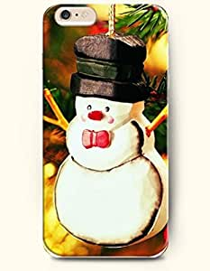 OOFIT iPhone 6 Case ( 4.7 Inches ) - Sweet Little Snowman