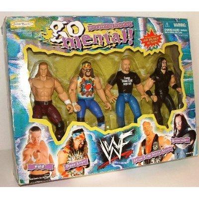World Wrestling Federation Go Mental! Triple H Dude Love Stone Cold Steve Austin Undertaker [ parallel import goods ] (World Austin Imports)