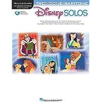 Disney Solos (Trombone Or Baritone) (Book/Online Audio)