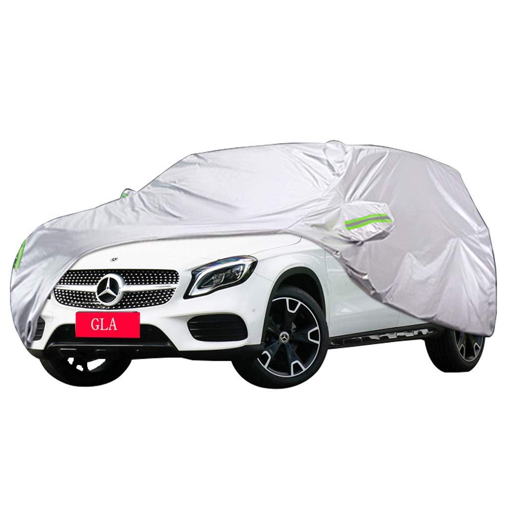 Cubierta de coche Cubierta especial para automóvil Mercedes GLA SUV Grosor de tela Oxford Protección solar Cubierta impermeable Cubierta impermeable para lluvia (Tamaño : GLA200)