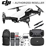 DJI Mavic Air Drone Quadcopter (Arctic White) Backpack Essential Bundle