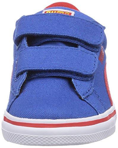 Risk Blue mixte Red Vulc Bleu Blau Superman Kids buttercup enfant basses 01 V Sneakers high CVS Strong Puma fR7qpw