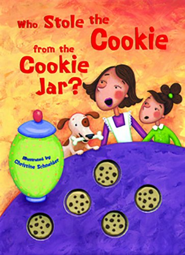 Who Stole The Cookie From The Cookie Jar Song Amazing Amazon Who Stole The Cookie From The Cookie Jar Mini Edition