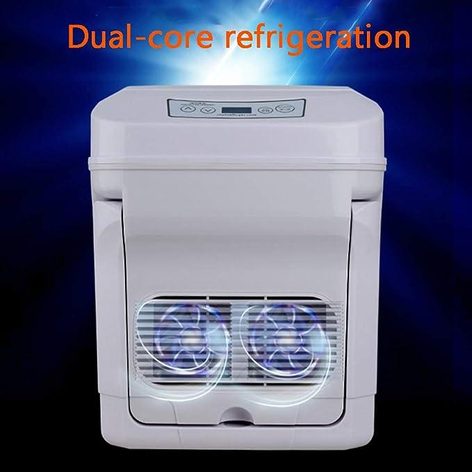 YOCC Sobremesa Mini Congelador 35L y Portátil Caja Fría Eléctrica ...