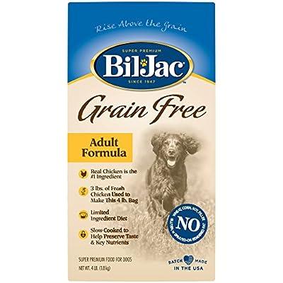 Bil-Jac Grain Free Adult Dog Food, 4 lbs.