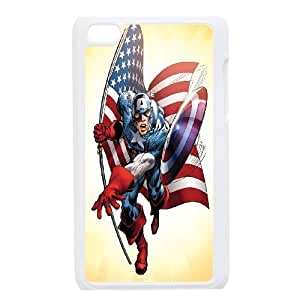 Custom High Quality WUCHAOGUI Phone case Caption American Pattern Protective Case FOR IPod Touch 4th - Case-6
