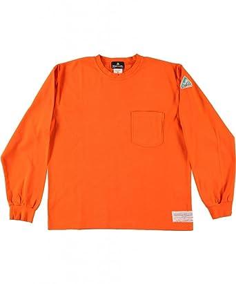 a3a626102d4b Amazon.com  Flamesafe Men s Flame Resistant 100% Cotton T Shirt Long ...