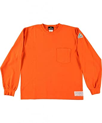 93eb5929b5c Amazon.com  Flamesafe Men s Flame Resistant 100% Cotton T Shirt Long  Sleeve  Work Utility Shirts  Clothing