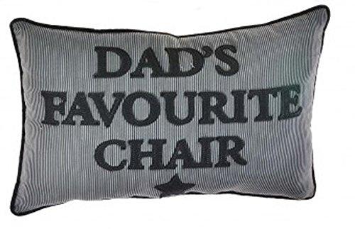Dads cojín, regalo para Dad, azul marino rayas rectangular cojín, reservado para Papá de Homestreet