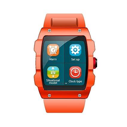 OOLIFENG Al aire libre Reloj inteligente Monitoreo deportivo multimodo GPS Bluetooth Admite tarjeta de 32GB TF
