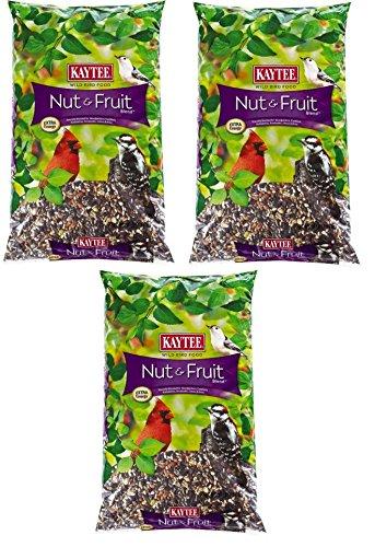 KAYTEE NUT & FRUIT BLEND (3, 5 LBS) (Medium Sunflower Chips)