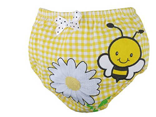 Rising Star Infant Fun Designed Diaper Covers - Boys and Girls Size: 0-12 (Bumble Bee Tights Toddler)