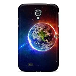 Defender Case For Galaxy S4, Earth Hd Pattern